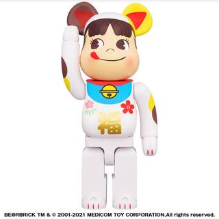 メディコムトイ(MEDICOM TOY)のBE@RBRICK ベアブリック 招き猫 1000% ペコちゃん 福(その他)