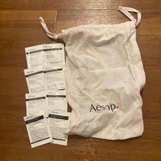 イソップ(Aesop)のaesop クレンザーテスターセット 巾着袋付き(クレンジング/メイク落とし)