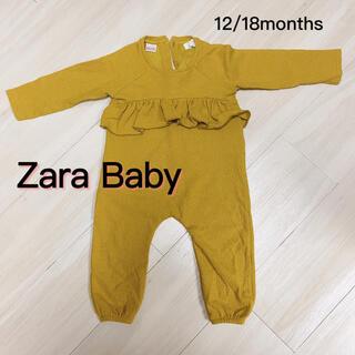 ZARA KIDS - ZARA マスタード色 ロンパース