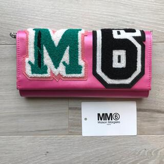 エムエムシックス(MM6)のショルダー付き長財布(財布)