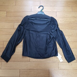リゼクシー(RESEXXY)の★RESEXXY★黒ワイシャツ(シャツ/ブラウス(長袖/七分))