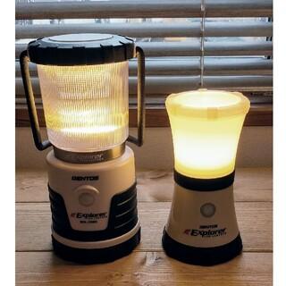 ジェントス(GENTOS)のジェントス SOL-036C SOL-144S LEDランタン2個セット(ライト/ランタン)