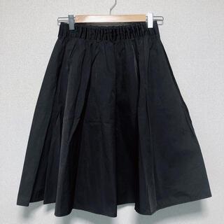 ラグナムーン(LagunaMoon)のLAGUNAMOON タフタミドルスカート(ひざ丈スカート)
