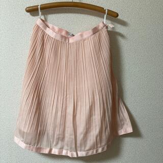 ナラカミーチェ(NARACAMICIE)のナラカミーチェのスカート(ピンク)(ひざ丈スカート)