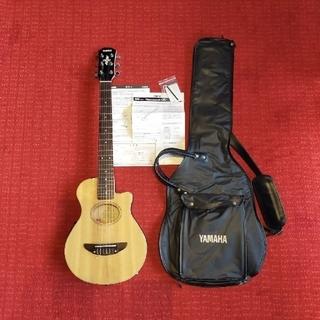 ヤマハ(ヤマハ)のヤマハ ミニエレアコ APXT-1NA ケース付 ナイロン弦(アコースティックギター)