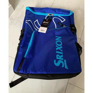 スリクソン(Srixon)のスリクソンラケットバッグ ブルーお値下げ(バッグ)