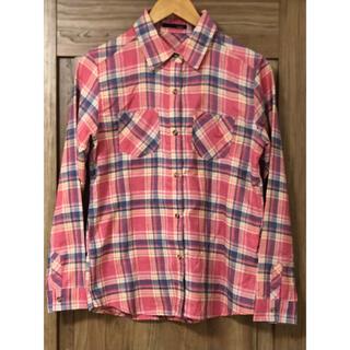 ドゥドゥ(DouDou)のDOUDOU ネルシャツ チェックシャツ(シャツ/ブラウス(長袖/七分))