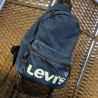 リーバイス(Levi's)のリーバイス リュック インディゴ デニム生地(バッグパック/リュック)