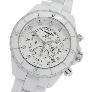 CHANEL - シャネル 時計 H2009 J12 9Pダイヤ 自動巻き セラミック メンズ