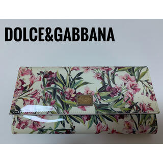 ドルチェアンドガッバーナ(DOLCE&GABBANA)の新品 レア物 ドルチェアンドガッバーナ 財布 花柄(財布)