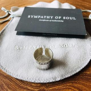 エスオーエスエフピー(S.O.S fp)の【美品】Sympathy of Soul リング ★ シンパシーオブソウル(リング(指輪))
