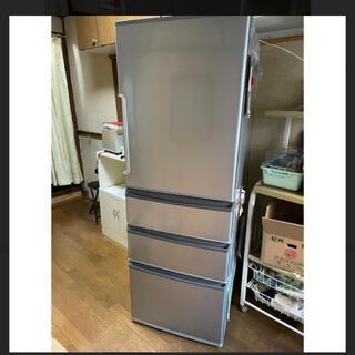 日立 - AQUA 冷凍冷蔵庫 アクア 355L AQR-361FS飾り︎2017年製
