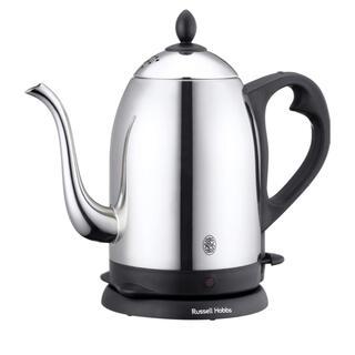 BALMUDA - ラッセルホブス 電気ケトル コーヒー ステンレス ドリップ ポット 1.2L