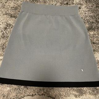 シャネル(CHANEL)のシャネル台形ニットスカート(ミニスカート)