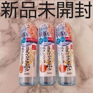 豆乳イソフラボン 水クレンジング なめらか本舗 ウォータークレンジング 新品(クレンジング/メイク落とし)