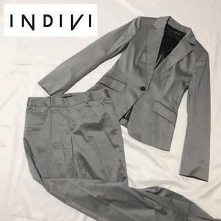 INDIVI - 【美品】INDIVI セットアップ パンツスーツ上下 M38 春夏秋