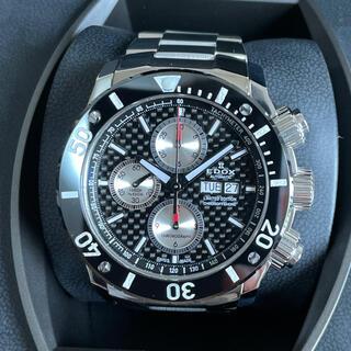 エドックス(EDOX)のエドックスクラス1クロノオフショアプロフェッショナル01114-3N-NIN2(腕時計(アナログ))