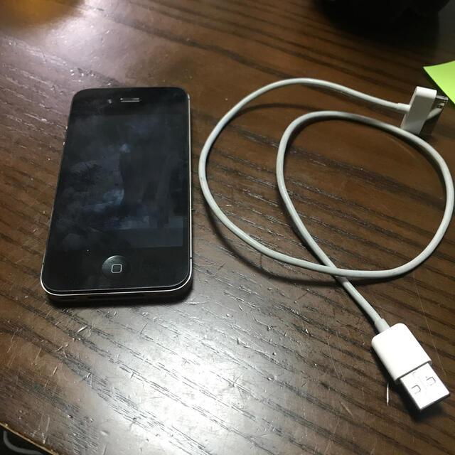 Apple(アップル)のiPhone4本体美品☆SIMフリー スマホ/家電/カメラのスマートフォン/携帯電話(携帯電話本体)の商品写真
