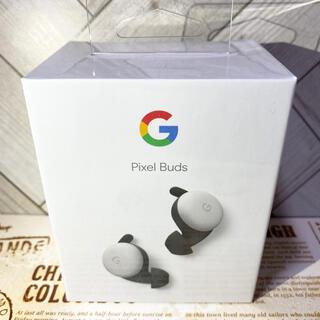 グーグルピクセル(Google Pixel)のGoogle Pixel Buds、White(白)(ヘッドフォン/イヤフォン)