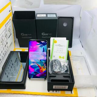 LG Electronics - 2-5958 中古 ! SIMFREE LGG8ThinQ DualScreen