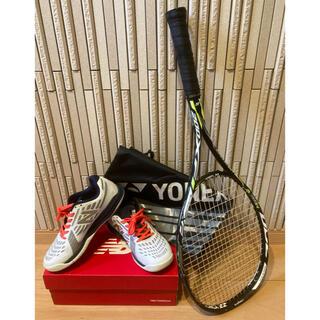 ヨネックス(YONEX)のソフトテニスラケット、シューズセット(テニス)