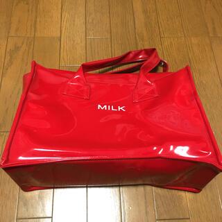 ミルク(MILK)のMILK エナメルトートバッグ(トートバッグ)