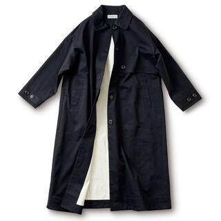 フェリシモ(FELISSIMO)の魔女のコート 黒 マキシ丈(ロングコート)