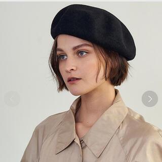 トゥモローランド(TOMORROWLAND)の【美品】La Maison de Lylis ネイビー・バスクバレー(ハンチング/ベレー帽)