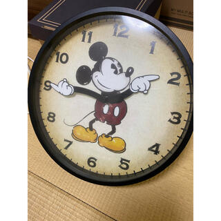 フランフラン(Francfranc)のFrancfranc 限定壁掛け時計 ミッキー(掛時計/柱時計)