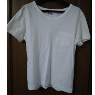 マーガレットハウエル(MARGARET HOWELL)のMHL 白Tシャツ(Tシャツ(半袖/袖なし))