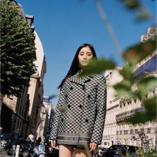 クリスチャンディオール(Christian Dior)のバンビモンチッチ様専用Christian Dior 日本限定チェック柄 ジャケッ(テーラードジャケット)