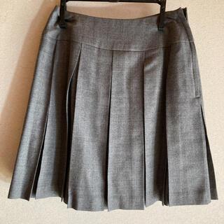 ヴァンドゥーオクトーブル(22 OCTOBRE)の美品 プリーツスカート(ひざ丈スカート)