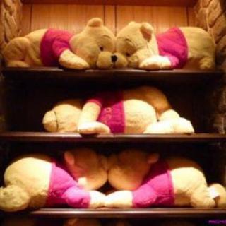 くまのプーさん - プーさん 特大 ぬいぐるみ Lサイズ 抱き枕