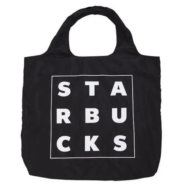 Starbucks Coffee(スターバックスコーヒー)の【新品 台湾限定】スタバ スターバックス エコバッグ バック 海外 黒 おしゃれ レディースのバッグ(エコバッグ)の商品写真