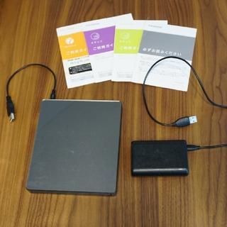 アイオーデータ(IODATA)のDVDミレル DVRP-W8AI2Ankerモバイルバッテリー セット(DVDプレーヤー)