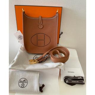 エルメス(Hermes)のHERMES エヴリン TPM アマゾーヌ ゴールド ゴールド金具(ショルダーバッグ)