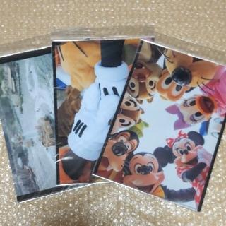 ディズニー(Disney)のレア 30周年 実写 イマジニング・ザ・マジック クリアファイル 3枚セット(クリアファイル)
