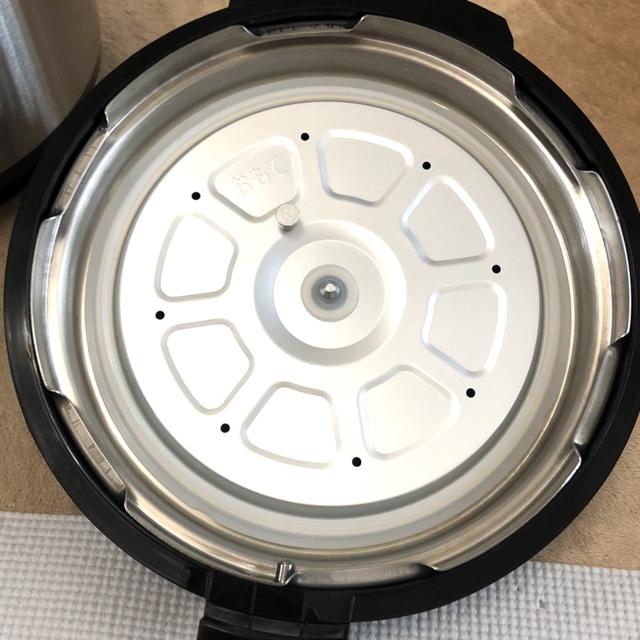 Shop NikoNiko(ショップニコニコ)のクッキングプロ 圧力鍋 ショップジャパン 中古 スマホ/家電/カメラの調理家電(調理機器)の商品写真