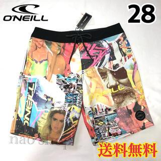 オニール(O'NEILL)の【新品】オニール メンズ ボードショーツ 水着 ミックス 28(水着)