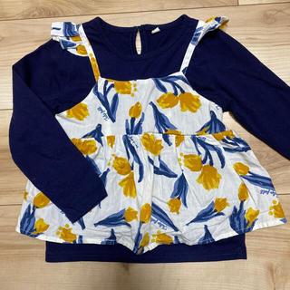 アンパサンド(ampersand)のB級品長袖カットソー 110cm(Tシャツ/カットソー)
