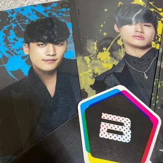 ビッグバン(BIGBANG)のBIGBANG クリアファイル 8枚 ステッカー(K-POP/アジア)