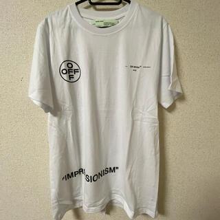 オフホワイト(OFF-WHITE)のoff-White オフホワイト tシャツ 半袖 XL(Tシャツ/カットソー(半袖/袖なし))