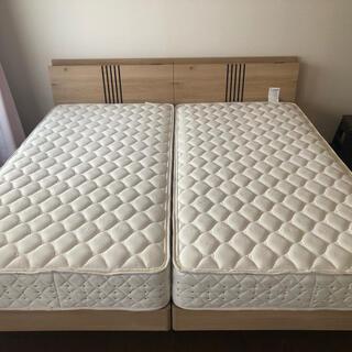 Serta サータ シングルベッド*2(キングベッド)