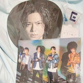NEWS STORY ペンライト&加藤シゲアキうちわ&クリアファイル(アイドルグッズ)