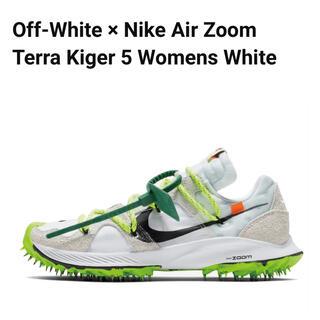 オフホワイト(OFF-WHITE)のOff-White × Nike Air Zoom Terra Kiger 5(スニーカー)