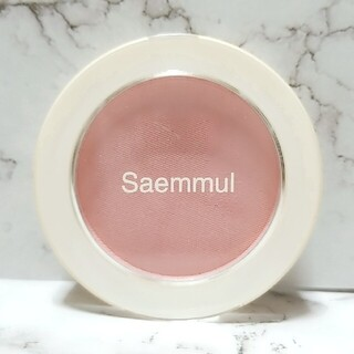 ザセム(the saem)のThe Saem❇Saemmul Single Blusher # CR01(チーク)