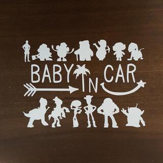 トイストーリー キッズインカー ベイビー ステッカー シール 子供 赤ちゃん 車(外出用品)