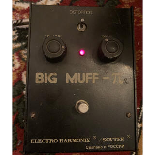 Electro Harmonix  BIGMUFF ver7d バブルフォント(エフェクター)