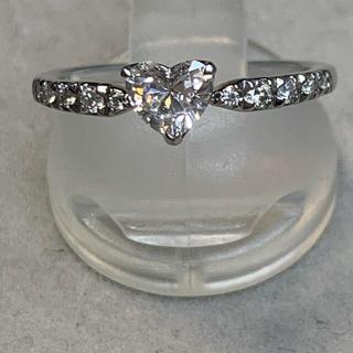 STAR JEWELRY - スタージュエリーエンゲージメントリングハートシェイプダイヤモンド0.361