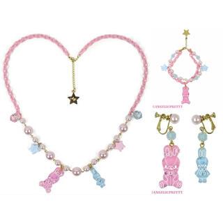 アンジェリックプリティー(Angelic Pretty)のangelic pretty jelly candy toys 3点セット(ネックレス)